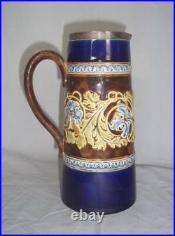 1886 Royal Doulton Lambeth Stoneware Lemonade Jug
