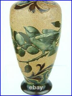 A Beautiful Doulton Lambeth Art Nouveau Vase by Eliza Simmance & Florence Barlow