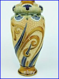A Large Impressive Doulton Lambeth Art Nouveau Vase by Frank Butler. Circa 1900