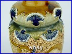 A Stunning 13 Doulton Lambeth Art Nouveau Vase by Frank Butler. Circa 1900
