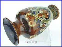 A Stunning Royal Doulton Lambeth Art Nouveau Vase by Frank Butler. Dated 1906. #1