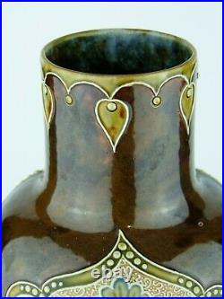 An Outstanding Doulton Lambeth Art Nouveau Vase by Eliza Simmance. Circa 1900