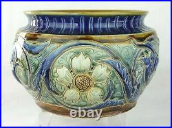 An Outstanding Doulton Lambeth Arts & Crafts Jardiniere by William Parker. 1884