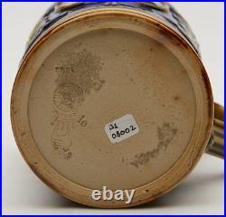 Antique Doulton Lambeth Edward VII Coronation Mug 1902