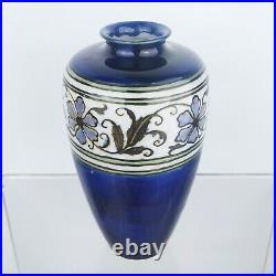 Antique ROYAL DOULTON Lambeth Pottery Vase FLORRIE JONES Art & Crafts Deco c1925
