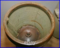 Antique Victorian Thomas Atkins, 62 Fleet St, London Stoneware Water Filter