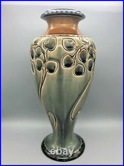 Art Nouveau Royal Doulton Vase By Frank Butler, 1907