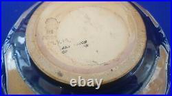 Doulton Art Union Mark Marshall Bessie Newbury Signed Thistle Bowl Circa 1900