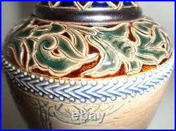 Doulton Hannah Barlow Lambeth Stoneware Vase