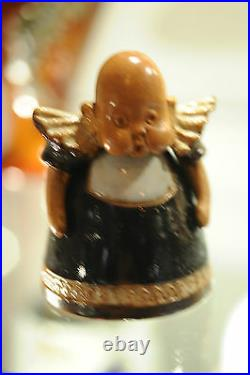 Doulton Lambeth 3 Baby inkwell in perfect condition