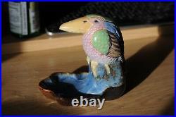 Doulton Lambeth 4 wally bird bibelot in perfect condition