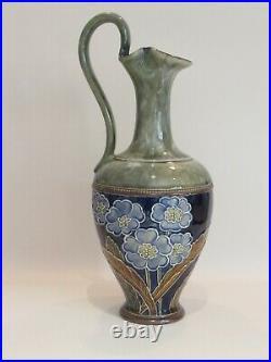 Doulton Lambeth Art Nouveau Stoneware Ewer -circa 1905
