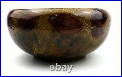Doulton Lambeth Autumn Leaves Stoneware Bowl 1922-56