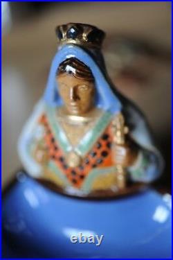Doulton Lambeth Bibelot Queen of spades perfect condition