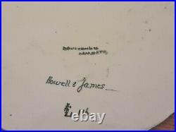 Doulton Lambeth C1879 Aesthetic Movement Faince Plaque Signed Frances Linnell