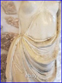 Doulton Lambeth Carrara ware statue 1888-98 Royal Doulton, garden statue, Rare