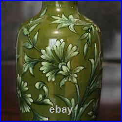 Doulton Lambeth Persian Design Vase 7.75, Minna L Crawley 1877-1885