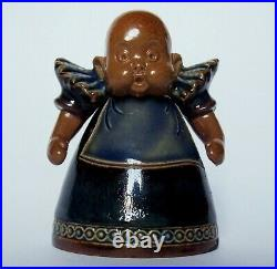 Doulton Lambeth Suffragette stoneware baby inkwell ink, no damage