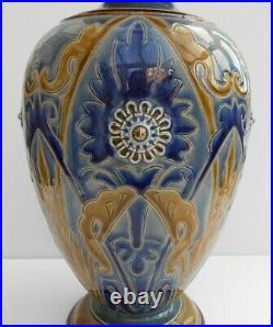 Doulton Lambeth Vase Frank Butler Art Nouveau Design Circa 1883