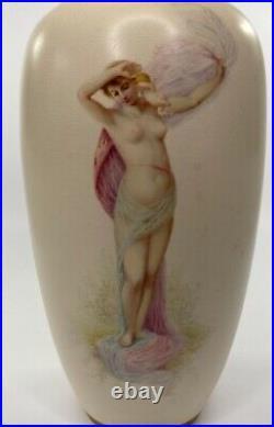 Doulton Lambeth faience vases. J. P. Hewitt, c. 1885