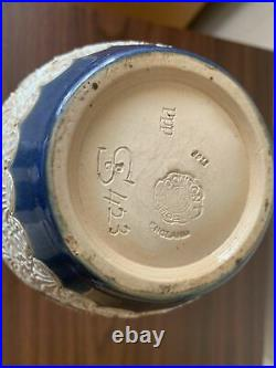 Doulton Lambeth stoneware vase Eliza Simmance