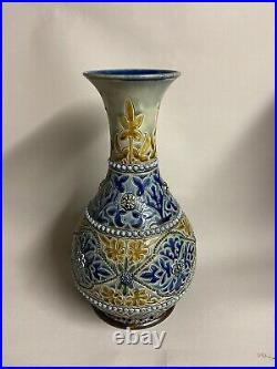Doulton Lambeth vase, by Frank Butler