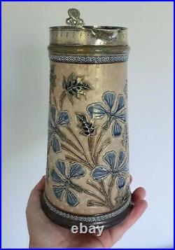 Doulton artware jug c. 1880's