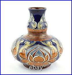 Early Doulton Lambeth Stoneware Art Nouveau Vase by Mark V Marshall 893