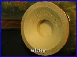 Exceptional Doulton Lambeth Frank Butler Art Pottery Vase 1891-1901
