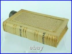 Fine & Rare Doulton Lambeth Fake Book Spirit Flask- Shakespeare, As You Like It