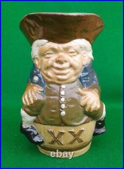 Harry Simeon For Doulton Lambeth Stoneware Toby XX Beaker X8591