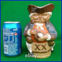 Harry Simeon For Doulton Lambeth Stoneware XX Toby Jug (orange) X8589