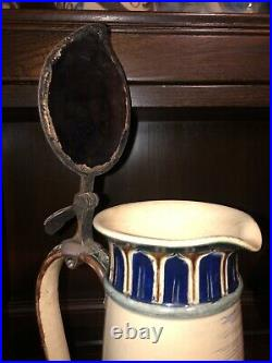 In The Style Of Doulton Lambeth H Barlow