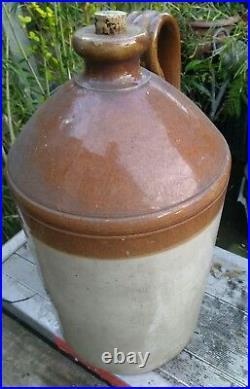 LONDON Salt Glazed Stoneware Doulton Lambeth Tapped Flagon Garden Ornament