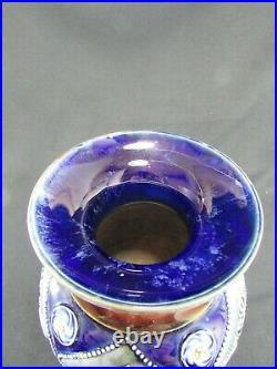 Large Doulton Lambeth Hannah Barlow Vase c. 1905