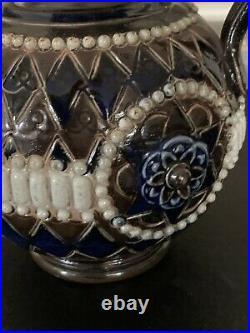 Lovely circa 1900s Art Nouveau Doulton Lambeth Ewer Jug / Vase