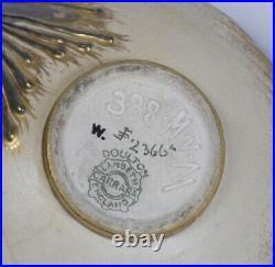 RARE, EARLY DOULTON LAMBETH CARRARA BON-BON DISH by MARK V. MARSHALL. 1889
