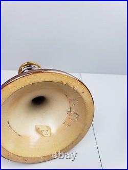 Rare Doulton Lambeth Chamberstick / Candle Stick with Match Striker base C. 1900