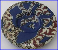 Rare Doulton Lambeth Dish By Mark V Marshall Very Unusual Example