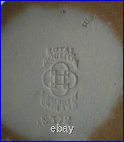 Rare Doulton Lambeth Toby Jug Harry Simeon Standing Man X8572 Perfect