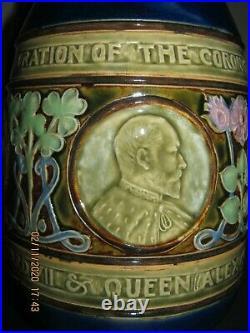 Rare Royal Doulton Commemorative Edward V11 Jug Must See