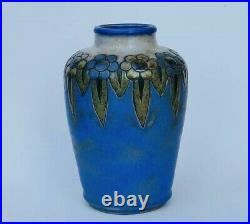 Royal Doulton Art Deco Vase c1928 designer Vera Huggins