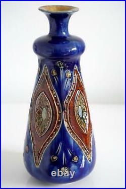 Royal Doulton Lambeth Art Nouveau Vase c. 1905