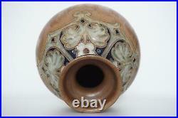 Royal Doulton Lambeth Art Pottery Vase Francis C. Pope c. 1920