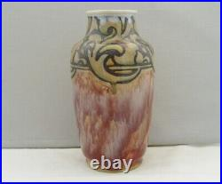 Royal Doulton Lambeth Art Pottery Vase Mark V Marshall 1905 Art Nouveau