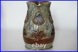 Royal Doulton Lambeth Jug Vase Art Nouveau Design Marion Holbrook c. 1905