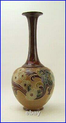 Royal Doulton Lambeth Slater's Tall Vase E. Tosen