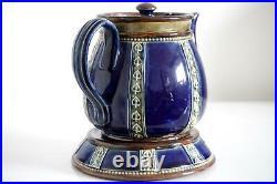 Royal Doulton Lambeth Teapot & Stand Lily Partington c. 1925