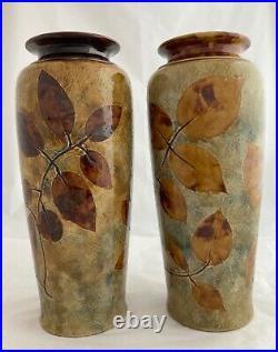Royal Doulton Vases Autumn Foliage Ware