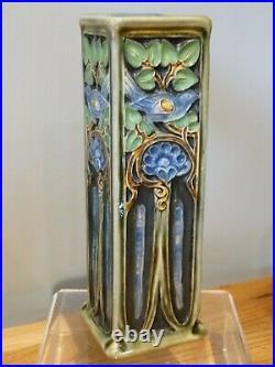 Superb Doulton Lambeth Art Nouveau Vase by Francis Pope. Gorgeous Bird Decoration